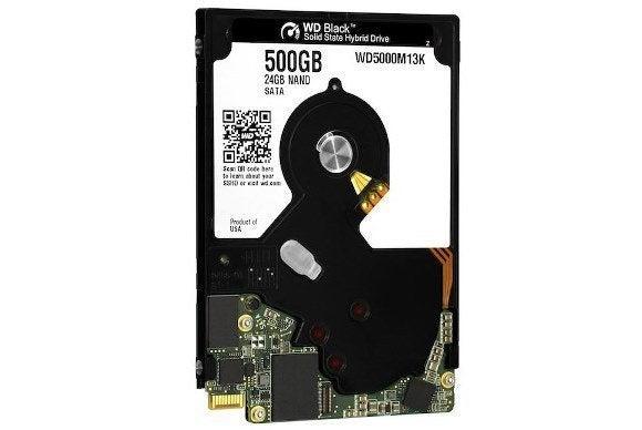western digital hybrid SSD