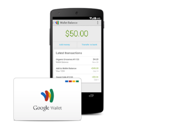 Google Wallet debit card