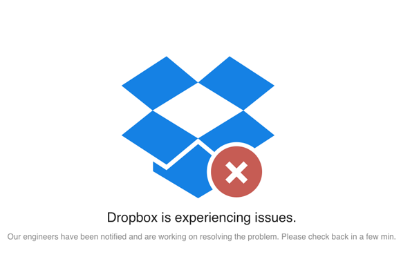 dropbox issues