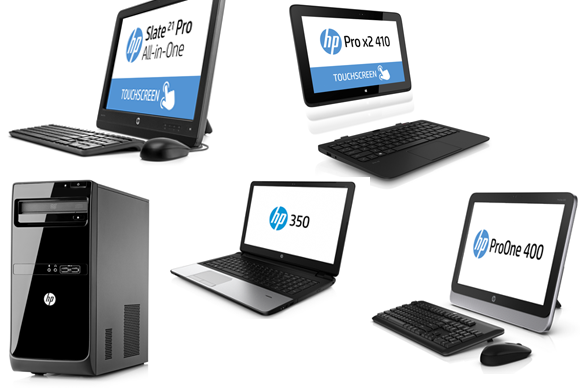 HP CES commercial PC announcements