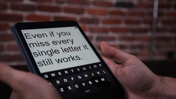 fleksy on ipad   miss letters
