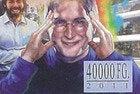 Guinea Bissau Steve Jobs stamp