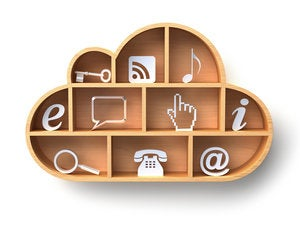 cloud computing concept 136627333