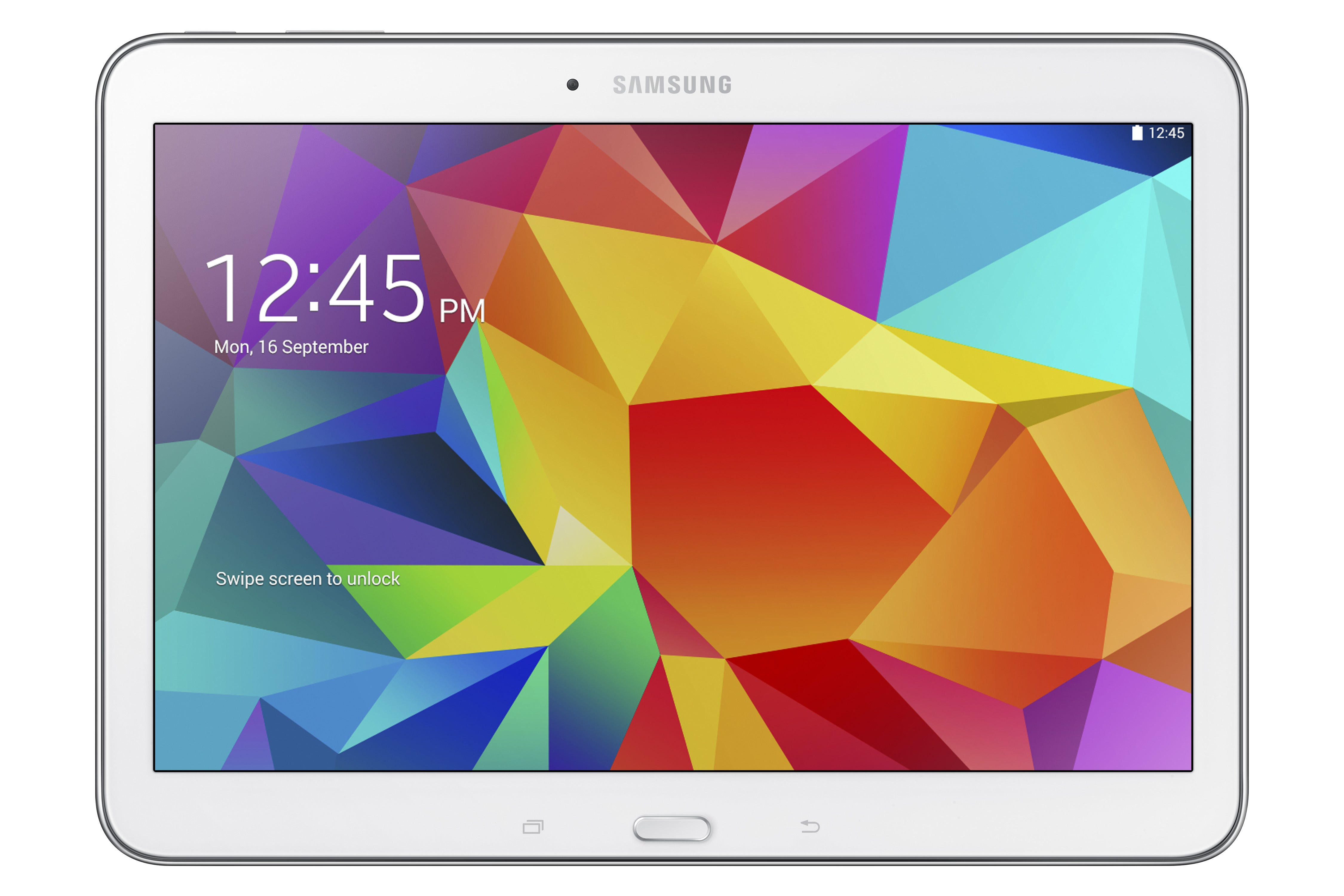 galaxy tab4 10.1 sm t530 white 1