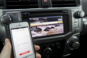 2014 toyota 4runner entune app and display