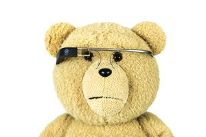 google glass bear