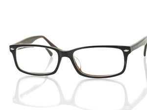 modern glasses with reflection 106542094