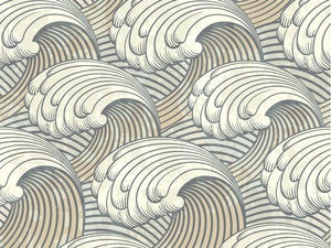 seamless pattern with waves 115036497
