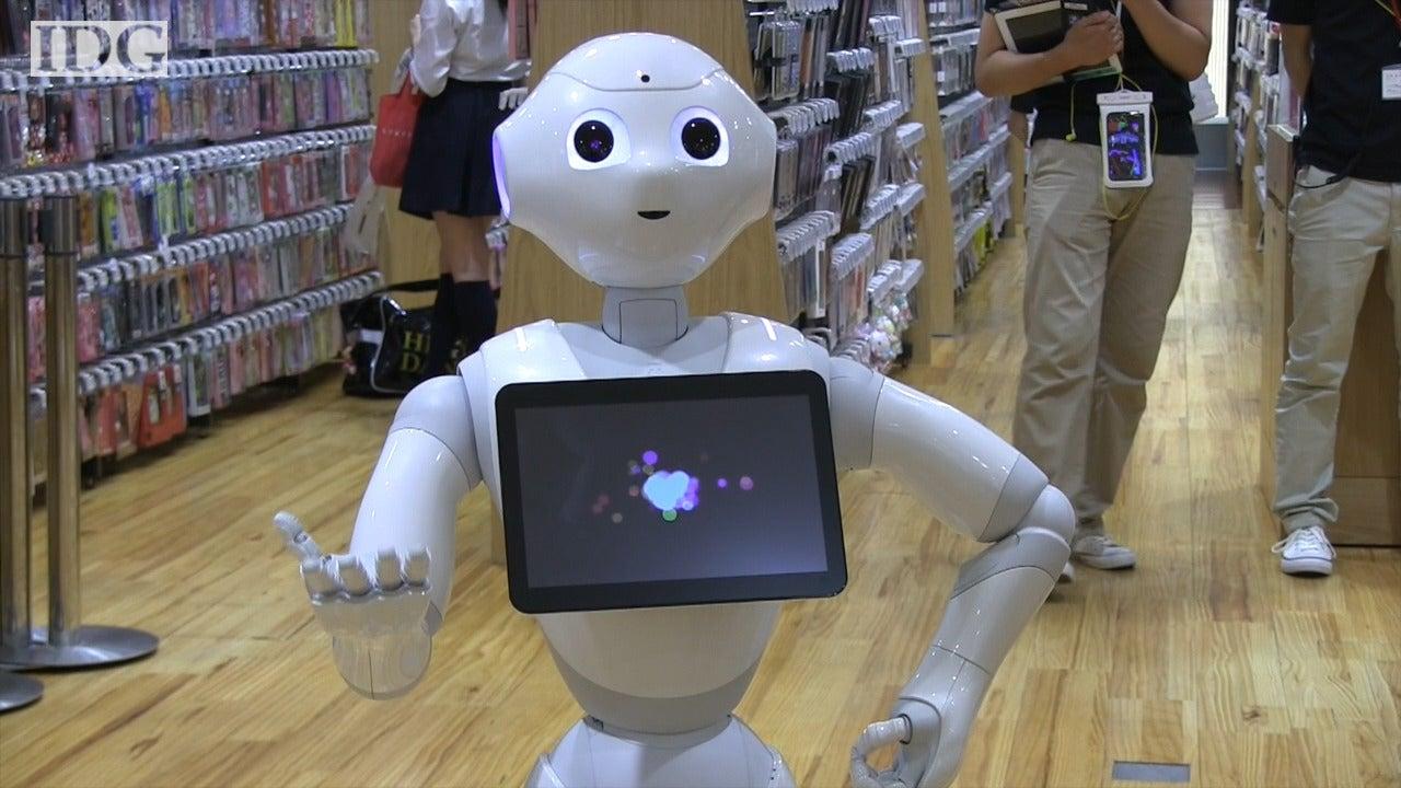 Meet Pepper The Robot That Understands Human Feelings