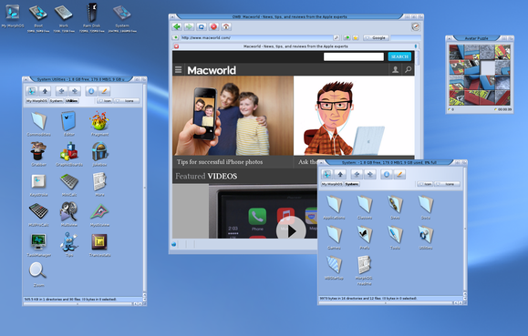 morphos desktop main