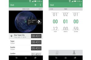 htc sense clock app