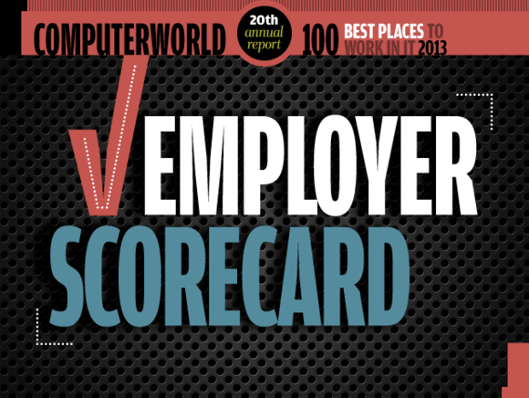 Computerworld Best Places to Work in IT 2013 / Employer Scorecard