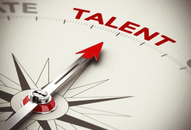 Talent compass pointing to the most highly skilled jobs hiring