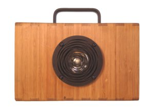 blueshift bamboo speakers