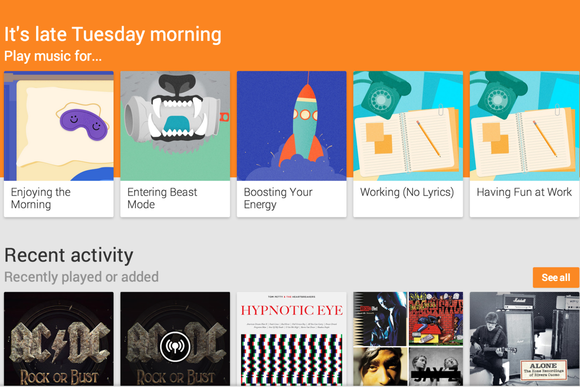 google play music songza