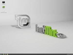 Linux Mint with the Cinnamon desktop