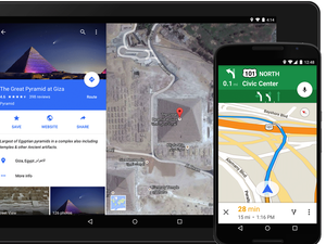 google maps material design