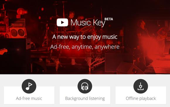 youtube music key beta primary