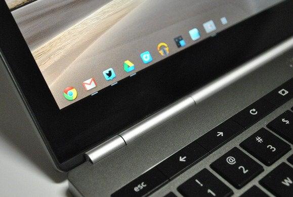 chromebook detail display hinge