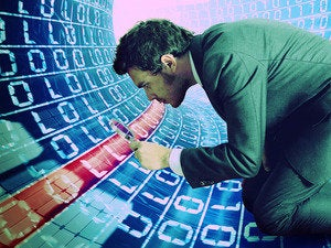 Illustration: searching binary data traffic.