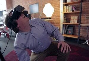 oculus look up