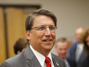 North Carolina Governor Pat McCrory