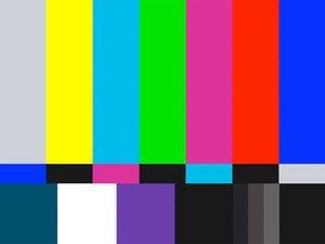 TV broadcast screen