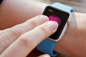 digital touch apple watch