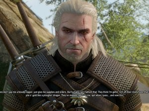 The Witcher subtitle example