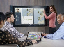 Microsoft Surface Hub supersizes smartphone addiction