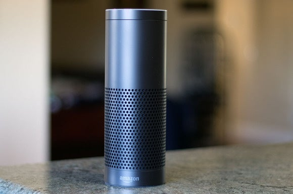 Amazon's Echo voice-assistant device.