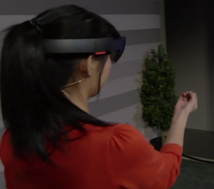 hololens start gesture
