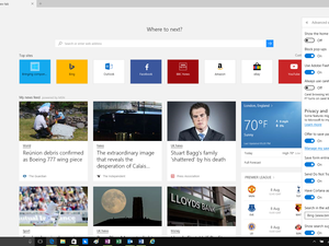 new tab in edge