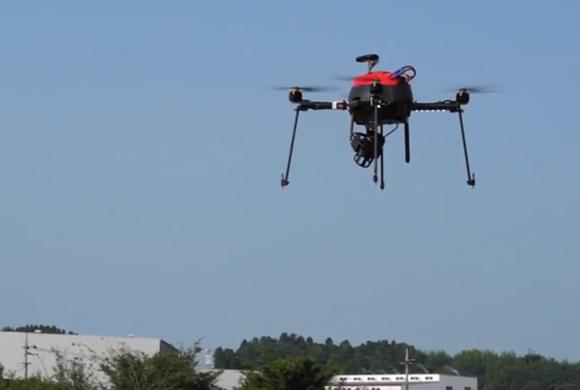 Aerosense drone