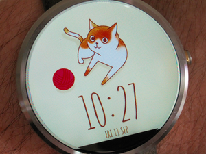 android wear kitty