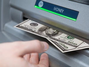 atm cash machine money