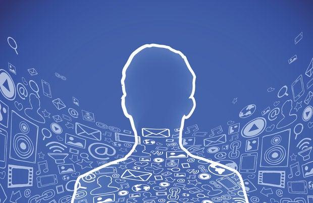 social media online presence profile user