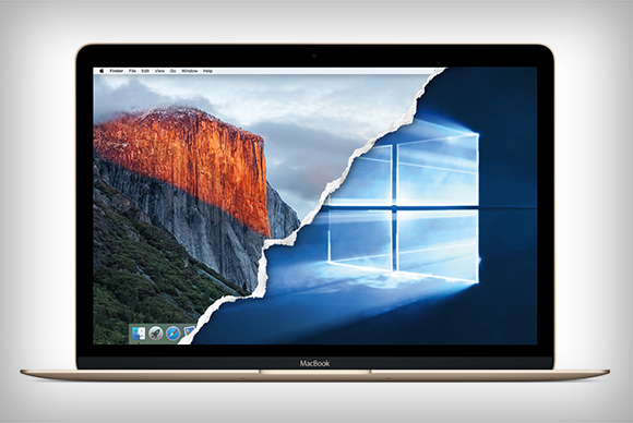 mac os x el capitan windows 10 primary