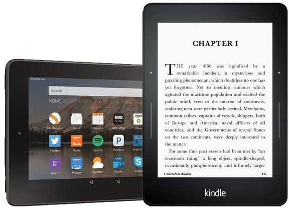 Amazon e-reader comparison