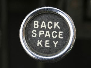 backspace key