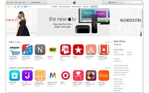 itunes 12 app store stock