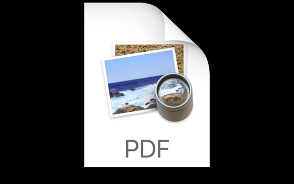 pdf mac icon