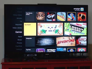 fire tv interface