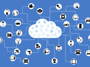 cloud internet of things connections links network iot