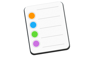 apple reminders mac icon