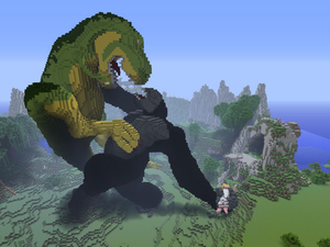 minecraft king kong