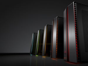 omen by hp desktop pc with led left facing