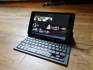 ZAGG keyboard unfolded view