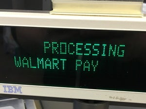 walmart pay pos processing