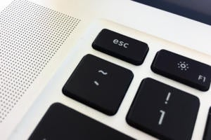 macbook pro esc key